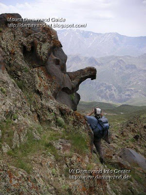 Damavand Statues Ridge