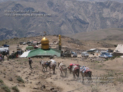 Mt Damavand Base Camp Mosque and Shelter