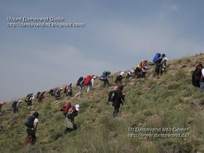 Tour Mt Damavand
