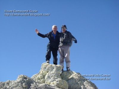 Mt Damavand Highest point, Photo by A.Soltani