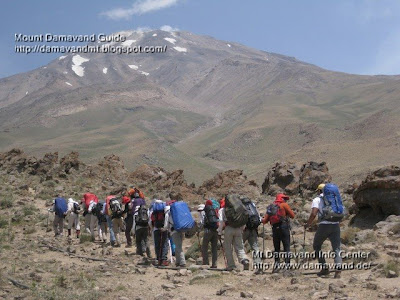 Damavand shared tour, Photo by A.Soltani