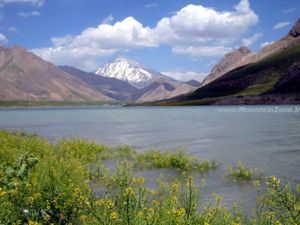 Lake Mt Damavand, Lar Dam Lake