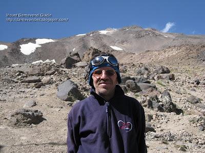 Mojtaba Saghian 1oo th Climb to Mount Damavand 30 Sep 2008