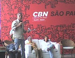 Gilberto Dimenstein no CBN São Paulo especial do aniversário da cidade.