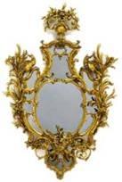 Espelho Chippendale em estilo Rococó