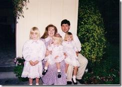 Cathys wedding 1990