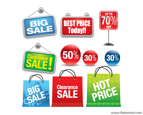 aivector: Sales promotion icon set