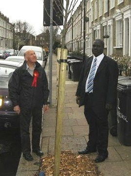 Vassall Ward Labour Councillors Adrian Garden and Kingsley Abrams
