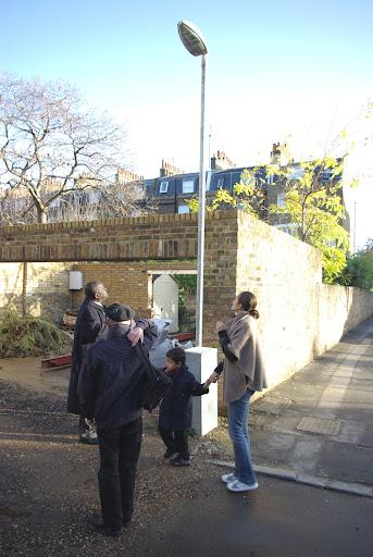 Vassall Action Team members on walkabout in Vassall ward, Lambeth