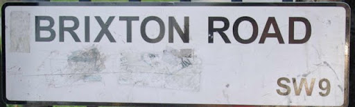 Brixton Road sign