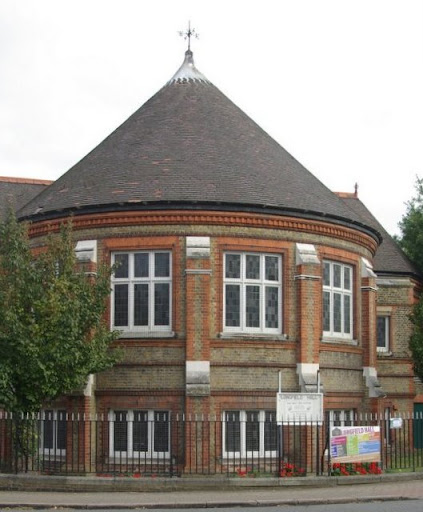photo of Longfield Hall, Knatchbull Road in Vassall Ward, SE5