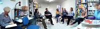 Reunião na Clínica AMMOR com a equipe do Projeto Abrigos