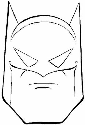 CARETA DE BATMAN