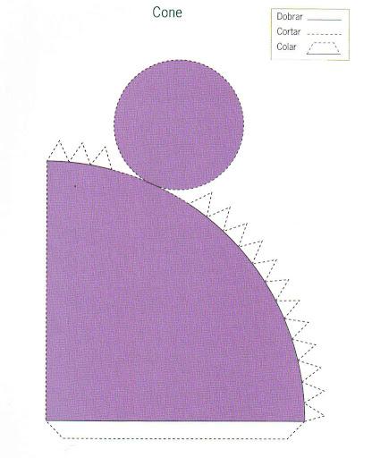 Figuras geometricas paralelepipedo para armar - Como hacer un cono ...