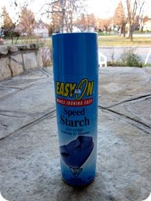 spraystarch