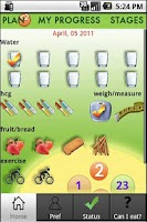 Screenshot of hCG Diet