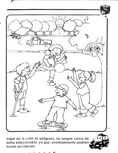 DIBUJOS CONSEJOS PARA LA SEGURIDAD DE LOS NIÑOS | infantil 2.0