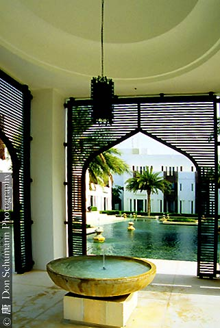 The chedi muscat hotel in oman for Hotel luxury oman