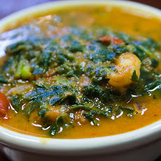 Lentil & Spinach Stew