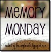 More Memory Monday