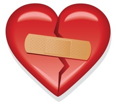 band-aid heart