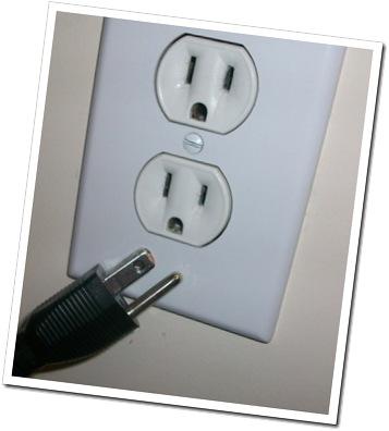 No electricity