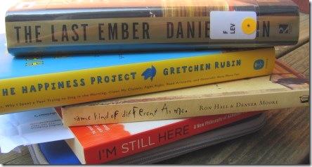 August nightstand books