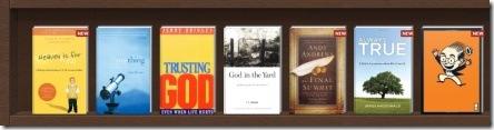 my Shelfari bookshelf