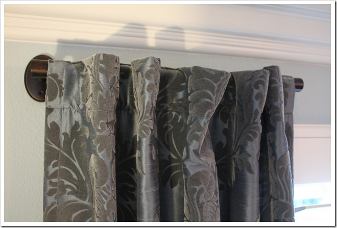 Reader request drapery rod solution a thoughtful place Short curtain rods