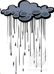 dark rain cloud
