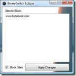 Eclipse v0.1b Screenshot