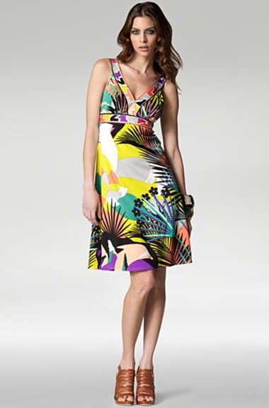 Emilio Pucci | Tiger Print Sleeveless Dress | eLuxury | Closing Down | Sale