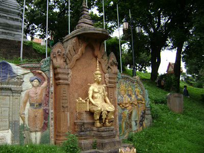 Siam King Monument at Wat Phnom