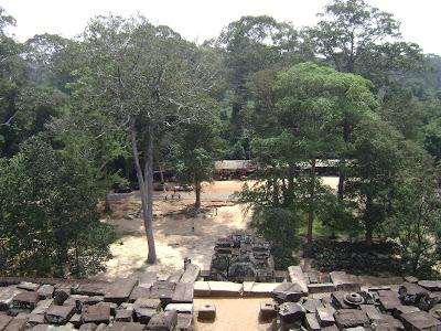 Top view of Prasat Ta Keo