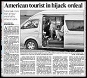 American tourist in highjack oreal Hartmut Detler 69
