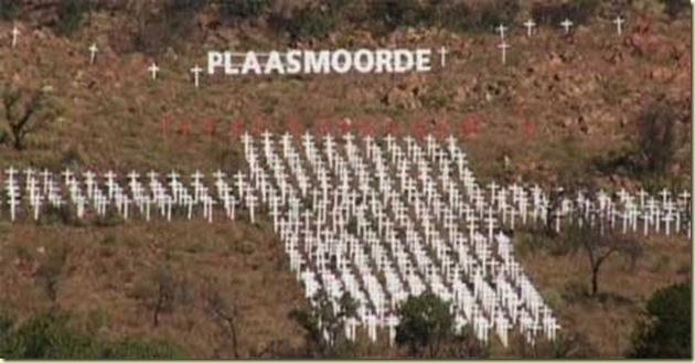 FarmMurdersMonumentSouthAfricaPietersburg