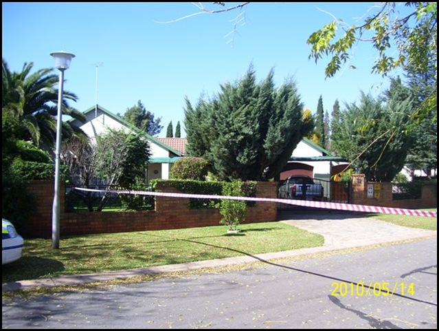 Benoni crime scene dead hijackers6 May2010