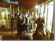 Police trying to arrest Voortrekker monument protestors May 9 2009