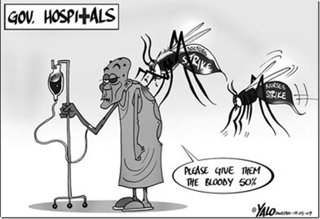 Goverment Hospitals Sowetan Cartoon
