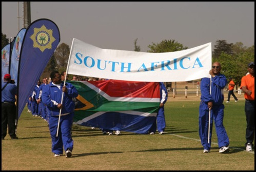 SA Police Force members at SARPCO opening ceremonies 2005 - cops are often used for political posturing warns this author