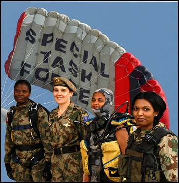 SA Police Force Special Task Force of women members