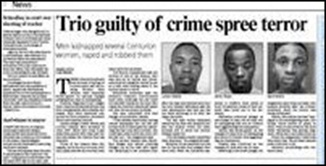 Centurion women gangrapists guilty PretoriaNews Sept 14 2009 p2