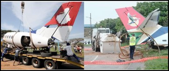 SAA crashed plane had branding painted out Daily News Sept292009
