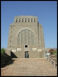 Voortrekker Monument Day of Vow Religious Service Dec 16 2009