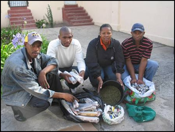 Duncan Village Crime Prev Unit confised dagga Nov 25 2009
