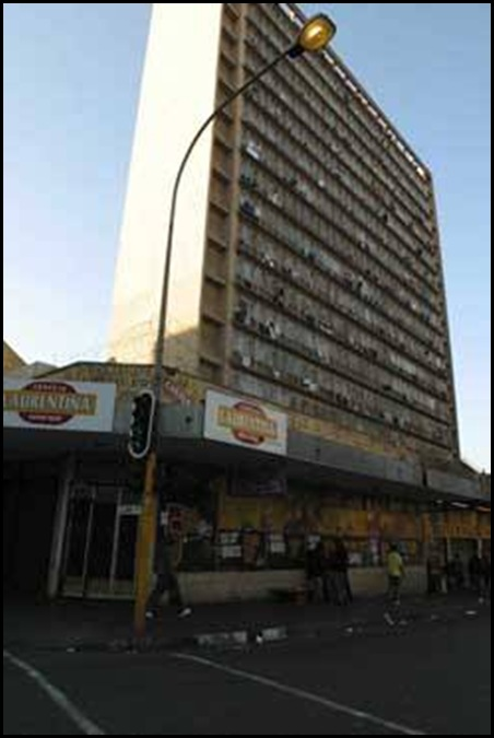 breestreet Johannesburg CBD buildings are hijacked at rapid rate
