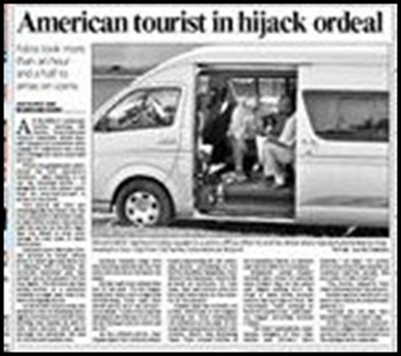 American Tourist in Hijack Ordeal The Star Aug272009