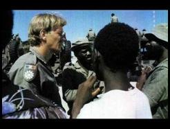 Captured Koevoet member SWA police unit during SA border war