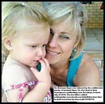 Geyer Bronwyn and daughter husband murdered she mauled