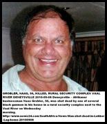 Grobler Naas 56 murdered rural Denysville Vaaldam security complex Sept82010